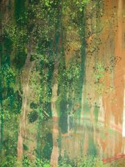 Living Through, 2009, Acrylic on canvas, private collection