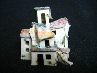 Endeavour, ceramic, under glaze and oxides, 13 x 10 x 11 cm