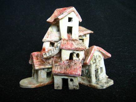 Endeavour, ceramic, under glaze and oxides, 10 x 11 x 10